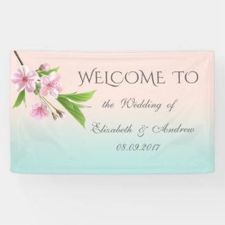 De mooie Moderne Banner van het Huwelijk van de