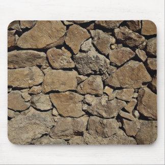 De mooie muur van de Steen Muismat