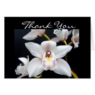 De mooie Orchidee dankt u Kaart