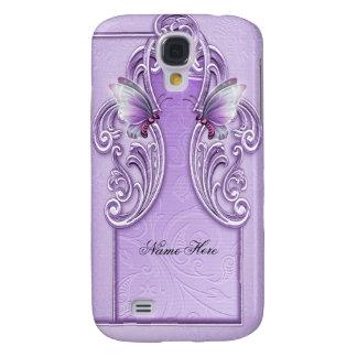 De mooie Paarse Sering van de Lavendel van de Vlin Galaxy S4 Hoesje