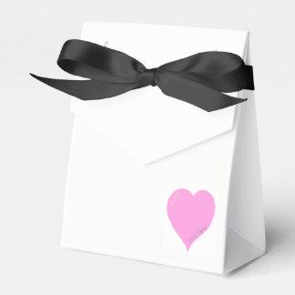De mooie Roze Dozen van de Gunst van het Huwelijk Bedankdoosjes