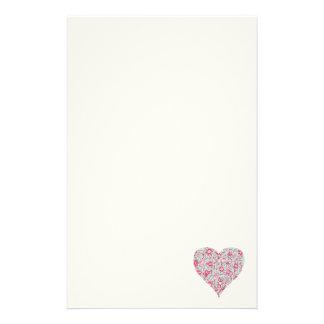 De mooie Roze en Blauwe Kantoorbehoeften van het Briefpapier