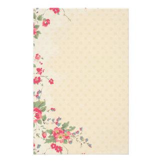 De mooie Roze Kantoorbehoeften van Bloemen Persoonlijk Briefpapier