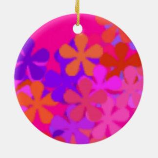 De mooie Roze Ornamenten van Daisy >Round