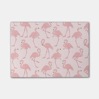 De mooie Roze Parade van de Flamingo Post-it® Notes