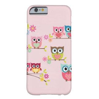 De mooie Uilen van de Pastelkleur - iPhone 6 hoesj
