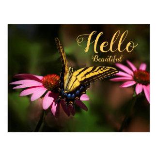 De Mooie Vlinder van Hello Briefkaart
