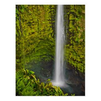 De mooie Watervallen en de Cascades zijn rijk Briefkaart