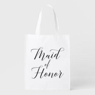 De mooie Zak van het Eerste bruidsmeisje van het Shoppers