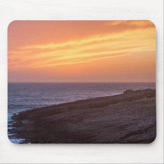 De mooie Zonsondergang van het Zeegezicht - Muismat