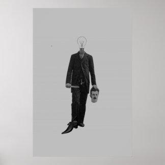 De Moord van Cyborg van de Robot van de Science fi Poster