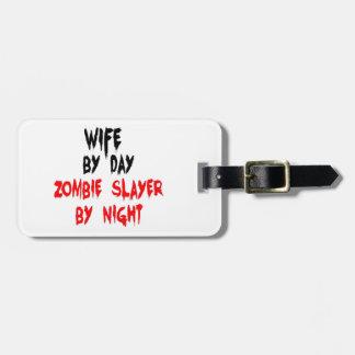 De Moordenaar van de Zombie van de vrouw Kofferlabel
