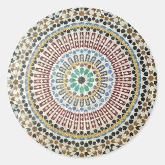 De Moorse Sticker van het Mozaïek