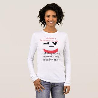 De mormoonse Bezoeker van het Gezicht van Smiley T Shirts