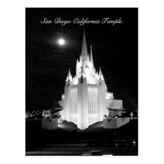 De Mormoonse Tempel van San Diego Briefkaart