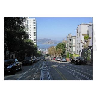 De morsende straten van San Francisco Kaart