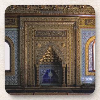 De Moskee Kaïro van het Paleis van Manial Drankjes Onderzetter