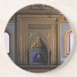De Moskee Kaïro van het Paleis van Manial Zandsteen Onderzetter
