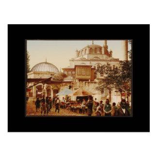 De Moskee van Valide van Yeni in Istanboel Briefkaart