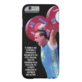 De motivatie Gymnastiek van de Geschiktheid Barely There iPhone 6 Hoesje