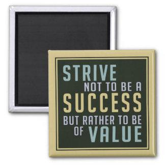 De Motivatie magneet van het succes & van de Waard