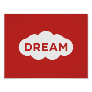 De Motivatie van de droom Poster