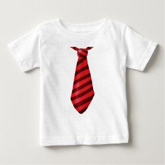 De motor rood gestreept stropdas van de brand baby t shirts