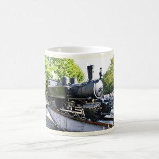 De motor van de stoom, Frankrijk Koffiemok