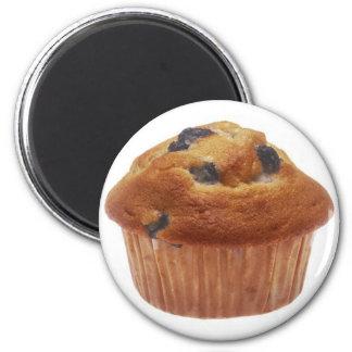 De Muffin van de bosbes Ronde Magneet 5,7 Cm