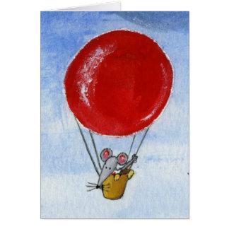 De Muis & de Daken van de ballon Kaart