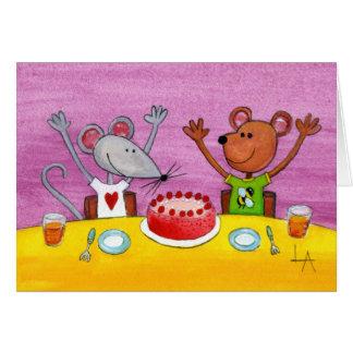 De muis & draagt Partij Kaart