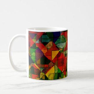De multi kleur   vat Nr 12 samen Koffiemok