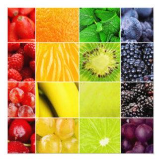 De multi Kleurrijke Collage van het Fruit Foto