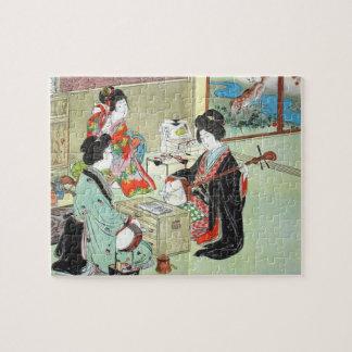 De musici - Devoirs het Japanse Raadsel van het Puzzel