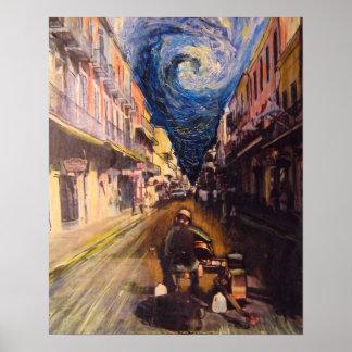 De Musicus van New Orleans Poster