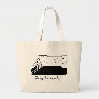 De Muur Chag Sameach van het westen Canvas Tas