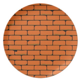 De muur party bord