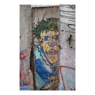 De muur van Berlijn - Duitsland Folder