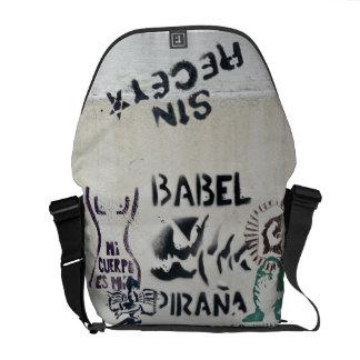 De Muur van Buenos aires Messenger Bag