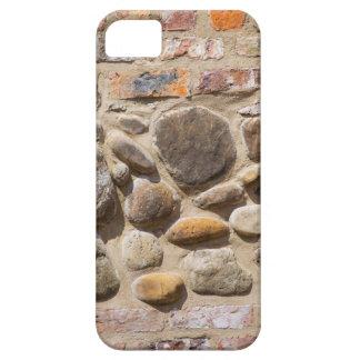 De muur van de baksteen en van de steen barely there iPhone 5 hoesje