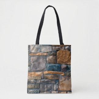 De Muur van de steen Draagtas
