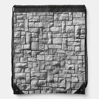 De Muur van de steen Rugzakje