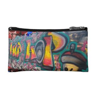 De Muur van het label Make-up Bag