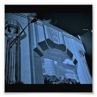 De Muurschildering van het Strand van Miami Fotoafdrukken