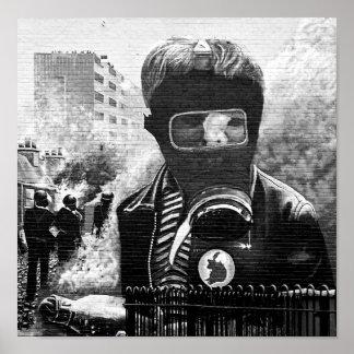 De Muurschildering van IRA, Derry Poster