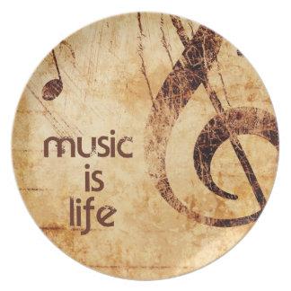 De muziek is het Leven Bord