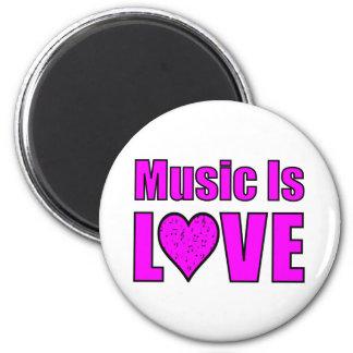 De muziek is Liefde Magneet