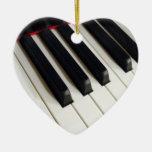 De muziek neemt nota van het Ornament van het Toet
