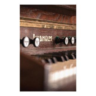 De Muziek Oud Antiek Polen van het Instrument van Briefpapier