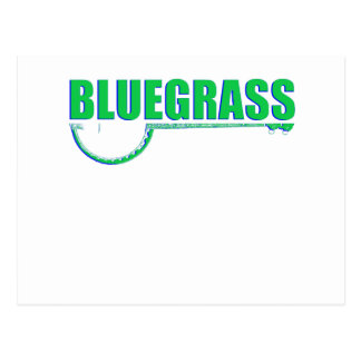 De Muziek van Bluegrass Briefkaart